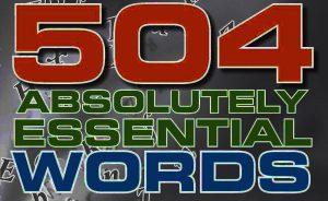 کتاب 504 واژه انگلیسی