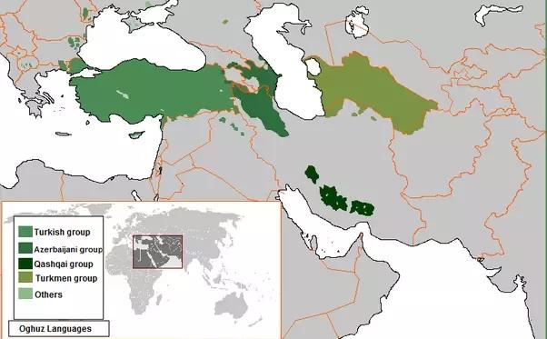 تفاوت های ترکی و آذری