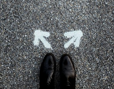 choosing between two